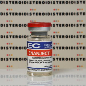 Confezione Enanject (Testosterone Enanthate) 250 mg Eurochem Labs