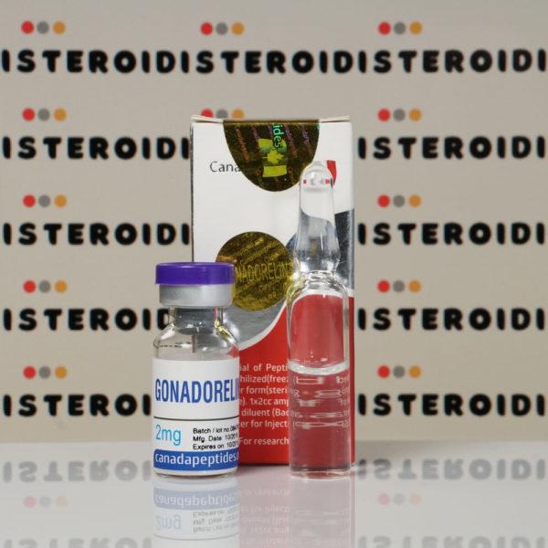 Confezione Gonadorelin 2 mg Canada Peptides