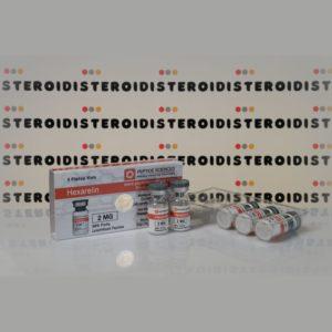 Confezione Hexarelin 2 mg Peptide Sciences