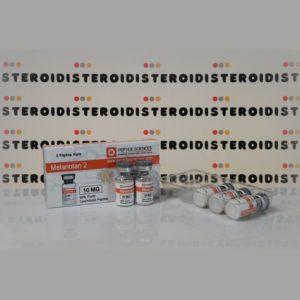Confezione Melanotan 2 10 mg Peptide Sciences