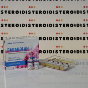 Confezione Parabolan 100 mg Balkan Pharmaceuticals