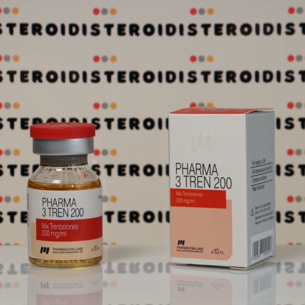 Confezione Pharma 3 Tren 200 mg Pharmacom Labs