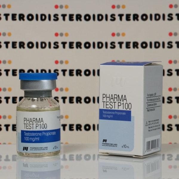 Confezione Pharma Test P 100 mg Pharmacom Labs