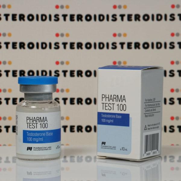 Confezione Pharma Test100 (Aquatest) 100 mg Pharmacom Labs