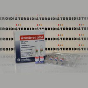 Confezione Testosteron Depo (Testosteron Enanthat) 250 mg Galenika
