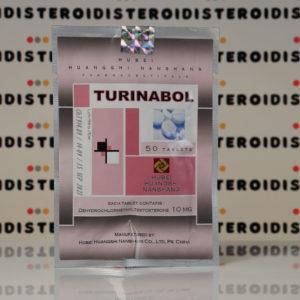 Confezione Turinabol 10 mg Hubei Huangshi Nanshang