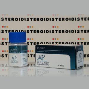 Confezione Clomid 50 mg Magnus Pharmaceuticals