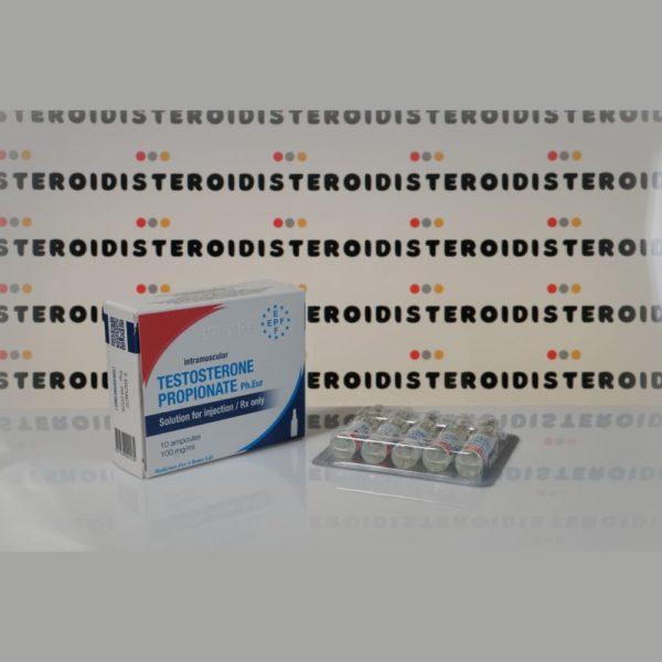 Confezione Testosterone Propionato 100 mg Euro Prime Farmaceuticals